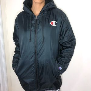 d3416d6c3cf9 Champion Jackets   Coats - Champion Sherpa Lined Hooded Anorak Jacket